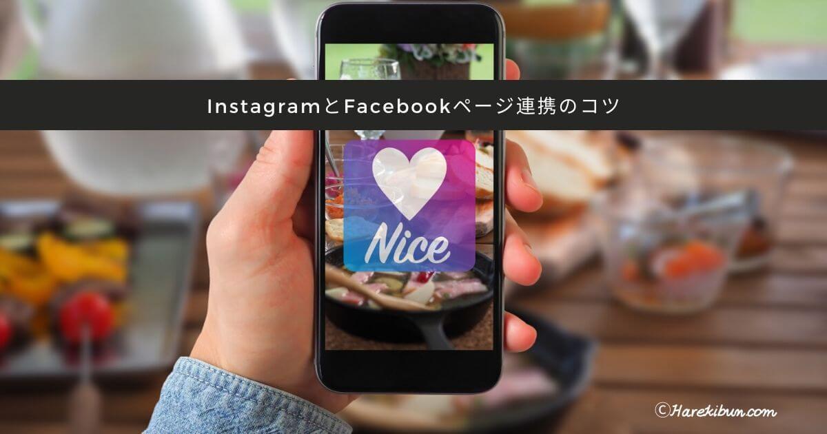 【方法】InstagramとFacebookページ連携、同時投稿のコツ